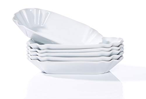 Bratwursthaus 6er Set Pommesschale Porzellan spülmaschinengeeignet