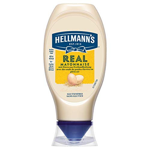Hellmann's Real Mayonnaise (mit Rapsöl, ideal als Pommes und Burger...