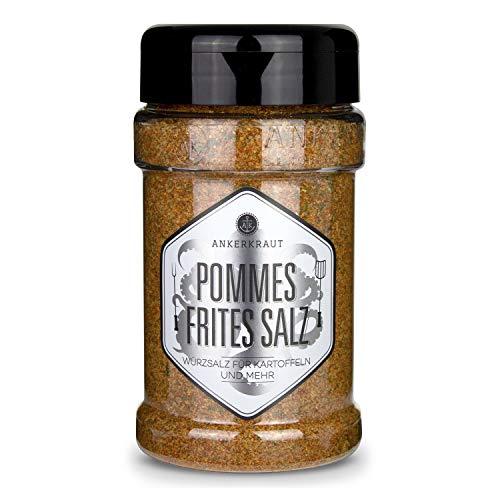 Ankerkraut Pommes Frites Salz, Pommes Gewürz, für Pommes und viele...