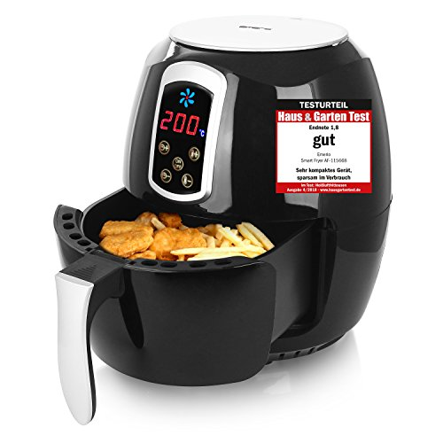 Emerio Heißluftfritteuse, Airfryer, Smart Fryer, Test 'GUT',...