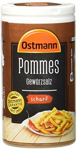 Ostmann Pommes Gewürzsalz scharf 70 g Pommesgewürz...