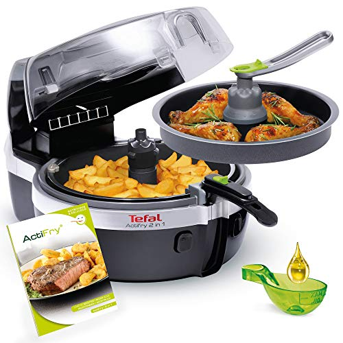 Tefal YV9601 ActiFry 2in1 Heißluft-Fritteuse, 1400 Watt, 1,5 kg...