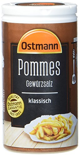 Ostmann Pommes Gewürzsalz klassisch 70 g Pommesgewürz...