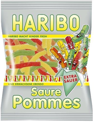 Haribo Saure Pommes, 6er Pack (6 x 200 g Beutel)
