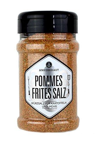 Ankerkraut Pommes Frites Salz, 270g im Streuer